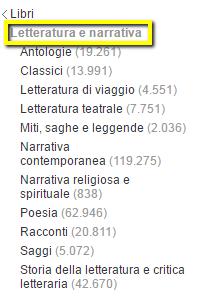 categorie di amazon