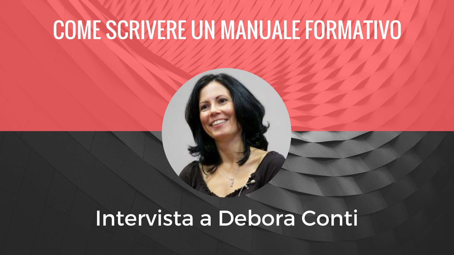 Intervista a Debora Conti