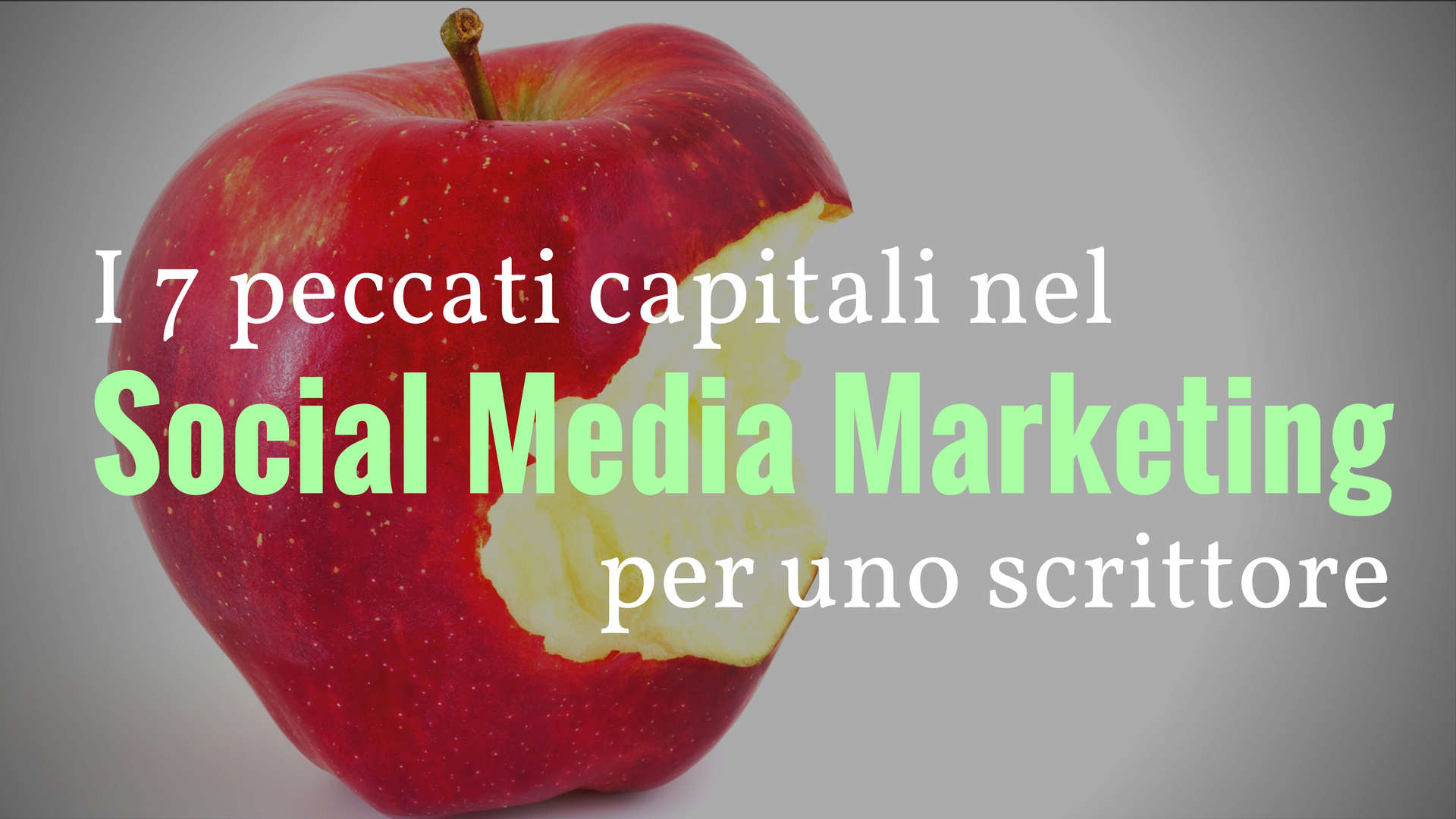 Social Media Marketing per uno scrittore