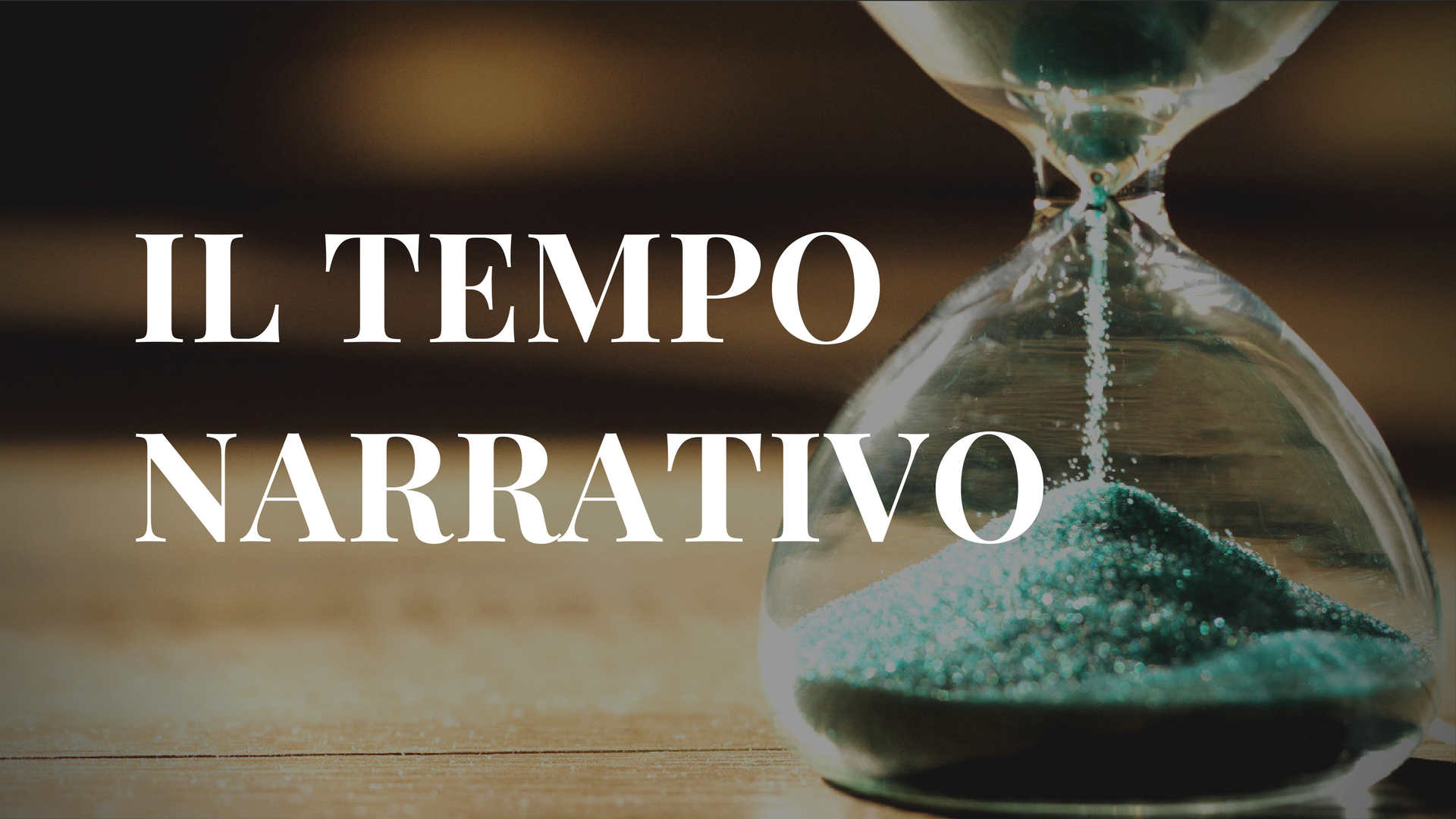 il tempo narrativo